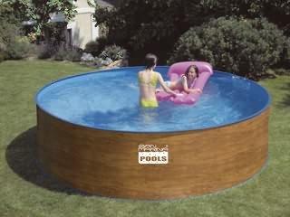 Schwimmbecken Summer fun Pool Avignon Standard Rundbecken Ø3,50x0,90m