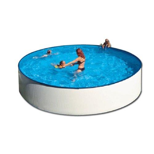 Swimming Pool über dem Boden Stahl rund 350 cm