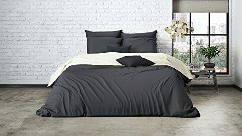 uni einfarbig wende bettw sche mistral home edel perkal. Black Bedroom Furniture Sets. Home Design Ideas
