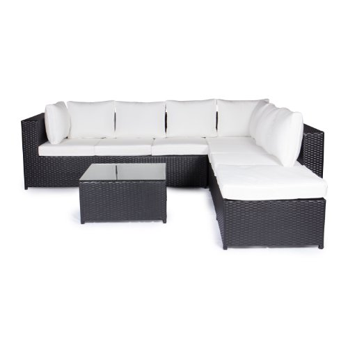 vanage gartenm bel set montreal sch ne rattan. Black Bedroom Furniture Sets. Home Design Ideas