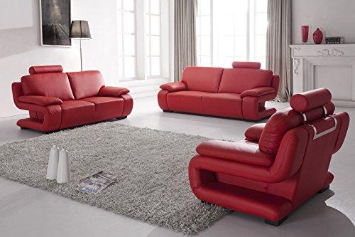vollledersofas ledersofas ledersofagarnitur couch relaxsofas schlafsofas 5172 3 2 1 m bel24. Black Bedroom Furniture Sets. Home Design Ideas