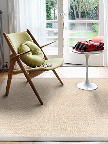 benuta sisal teppich mit bord re cream 160x230 cm naturfaserteppich f r flur und wohnzimmer. Black Bedroom Furniture Sets. Home Design Ideas