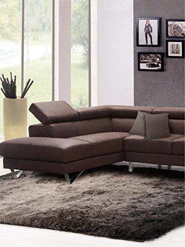 benuta shaggy hochflor teppich whisper anthrazit grau 160x230 cm langflor teppich f r. Black Bedroom Furniture Sets. Home Design Ideas