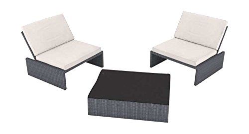 Artelia Loungemöbel Set Estoria S, Grau