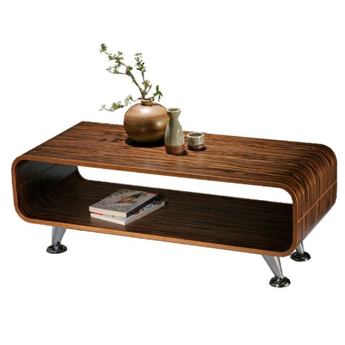 club couchtisch dunkel retro lounge wohnzimmertisch loungetisch tisch 70er holz m bel24. Black Bedroom Furniture Sets. Home Design Ideas