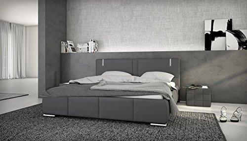 Designerbett Ricci 180/200 cm inkl. LED Beleuchtung
