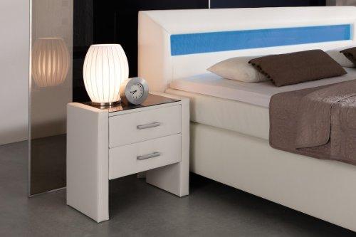 Dreams4Home 'Boxspring' Nachtkonsole; passend zu Boxspring Flashlight; Bettschränkchen; Schrank, handgefertigt