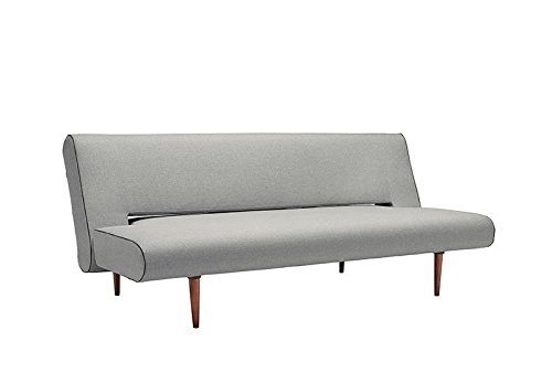 Innovation - Unfurl Schlafsofa - hellgrau - Flashtex - Andreas Lund, Flemming Hoejfeldt, Per Weiss - Design - Sofa