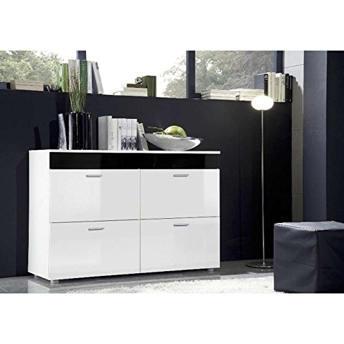 justyou lago kommode sideboard wohnzimmerschrank hxbxt. Black Bedroom Furniture Sets. Home Design Ideas