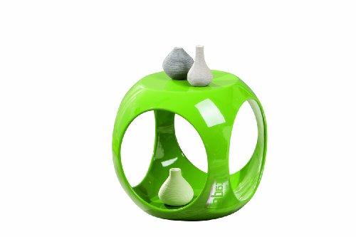 Inter Link 99101010 Beistelltisch grün hochglanz Wohnzimmertisch Beistell Tisch Nachttisch Design