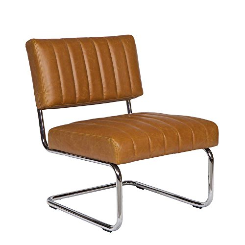 Lounge Sessel in Braun Retro Pharao24