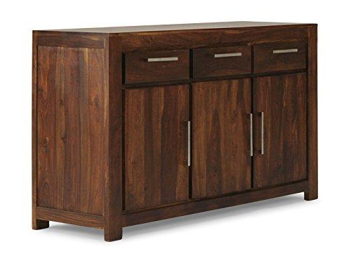 massivum Sideboard Manora 147x85x45 cm Palisander braun lackiert