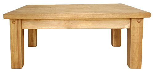 Mercers Furniture Tortilla Couchtisch, Holz, Kiefer antik