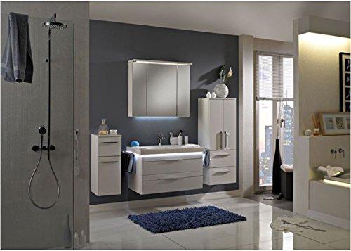 Pelipal Balto 3 tlg. Badmöbel Set / Waschtisch / Unterschrank / Spiegelschrank