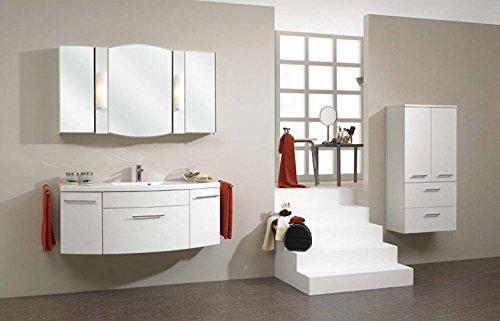 Pelipal Huevo 3 tlg. Badmöbel Set / Waschtisch / Unterschrank / Spiegelschrank / Comfort N