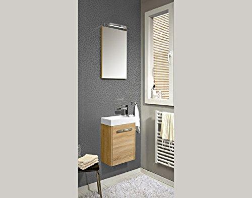 Pelipal Lardo 3 tlg. Badmöbel Set / Waschtisch / Unterschrank / Flächenspiegel