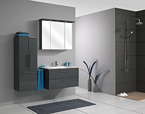 Pelipal Sonic 3 tlg. Badmöbel Set / Waschtisch / Unterschrank / Spiegelschrank