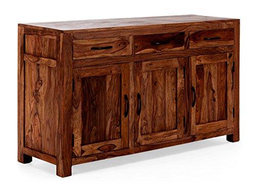 massivum Sideboard Palison 140x80x42 cm Palisander braun lackiert