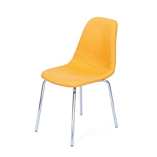 Stuhl in Gelb Retro Design (4er Set) Pharao24