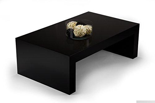 mobilifiver First H30Couchtisch, Holz, Schwarz glänzend, 90x 54x 30cm