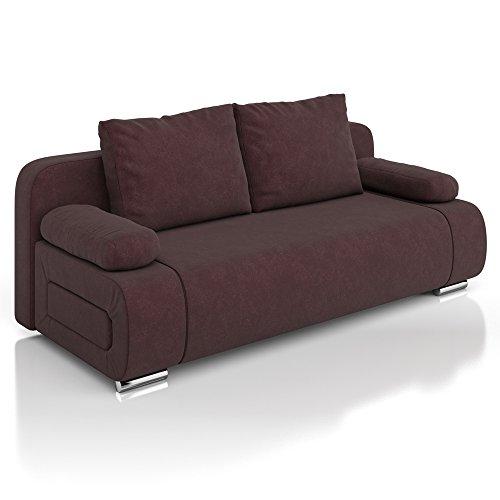 Vicco schlafsofa sofa couch ulm federkern 200x91cm for Federkern schlafsofa