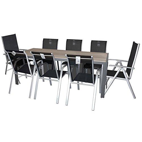 9tlg gartengarnitur sitzgruppe gartenm bel set gartentisch. Black Bedroom Furniture Sets. Home Design Ideas