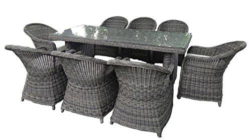 baidani gartenm bel essgruppe charming grau m bel24. Black Bedroom Furniture Sets. Home Design Ideas