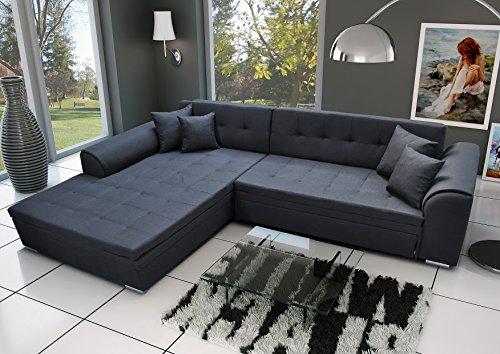 Ecksofa Sorrento Eckcouch Sofa Couch mit Bettfunktion Schlaffunktion