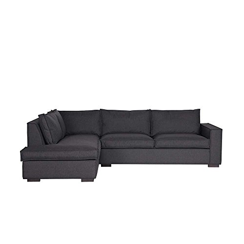 ecksofa in anthrazit stoff pharao24 m bel24. Black Bedroom Furniture Sets. Home Design Ideas