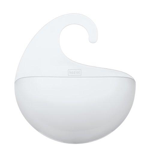 Koziol Utensilo Surf M, Kunststoff, transparent klar, 6.5 x 21.6 x 25.3 cm