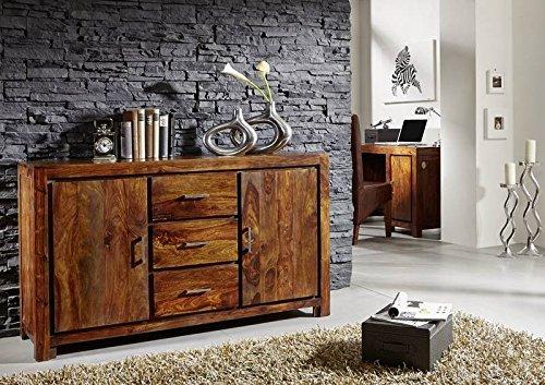 massivholz palisander lackiert m bel life honey sideboard sheesham massivm bel massiv holz metro. Black Bedroom Furniture Sets. Home Design Ideas