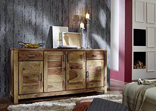 palisander massiv holz m bel ge lt natur sideboard sheesham massiv m bel massivholz braun buddha. Black Bedroom Furniture Sets. Home Design Ideas