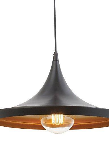 Pendelleuchte Retro Vintage Tom Dixon Design schwarz malen Pendelleuchten Wohnzimmer / Schlafzimmer / Esszimmer Lampen , 220-240V