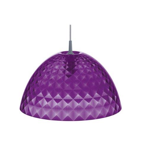 Pendelleuchte STELLA M transparent violett K1