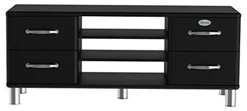 Tenzo 5158-033 Malibu Designer TV-Bank Holz, schwarz, 44 x 134 x 54 cm