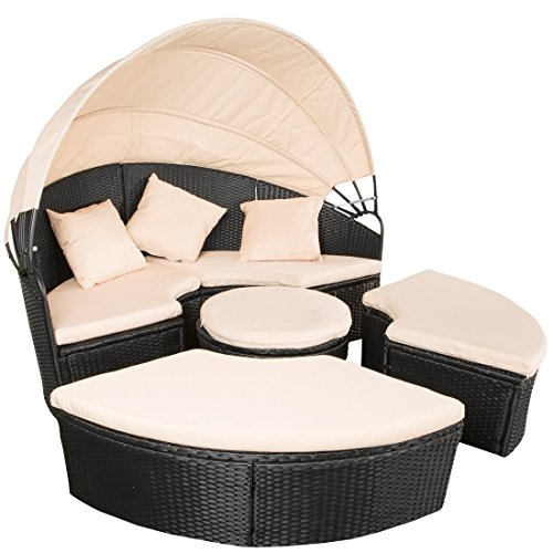ultranatura polyrattan sonneninsel palma serie lounge. Black Bedroom Furniture Sets. Home Design Ideas