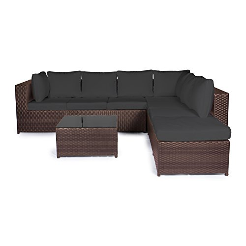 vanage gartenm bel set montreal sch ne rattan. Black Bedroom Furniture Sets. Home Design Ideas