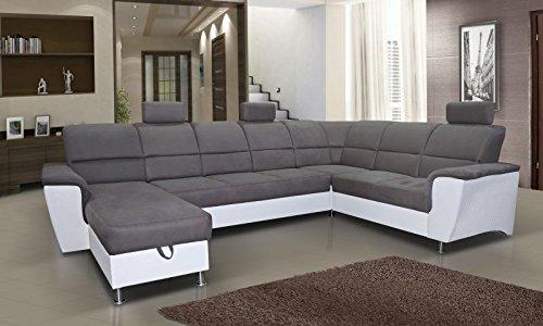 wohnlandschaft alvez 3 mit staukasten lehne und bettfunktion abmessungen 325 x 217 cm b x t. Black Bedroom Furniture Sets. Home Design Ideas