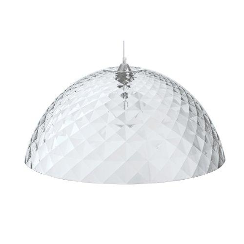 Koziol Pendelleuchte Stella XL, Kunststoff, transparent klar, 66,90 x 66,90 x 29,5 cm