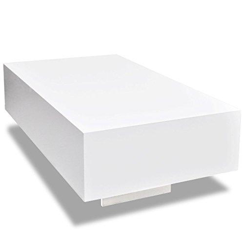 vidaxl couchtisch wohnzimmer tisch beistelltisch kaffeetisch hochglanz eckig m bel24. Black Bedroom Furniture Sets. Home Design Ideas