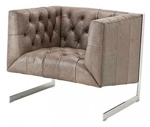 casa padrino chesterfield luxus echt leder sessel. Black Bedroom Furniture Sets. Home Design Ideas