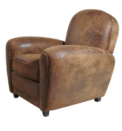 Kare 72873 Sessel Vintage Round 86 x 89 x 89, Schaumpolsterung