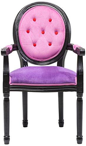 Kare 78838 Stuhl mit Armlehnen Louis Boudoir