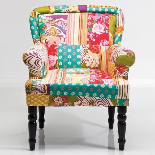 kare design sessel patchwork frame m bel24. Black Bedroom Furniture Sets. Home Design Ideas