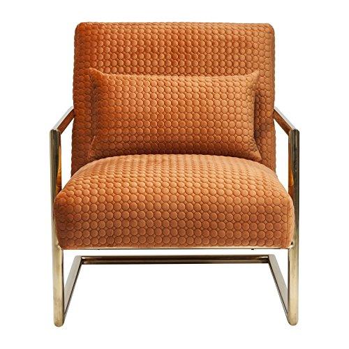 kare 80686 living vegas sessel andere orange 86 x 70 x 78 cm m bel24. Black Bedroom Furniture Sets. Home Design Ideas