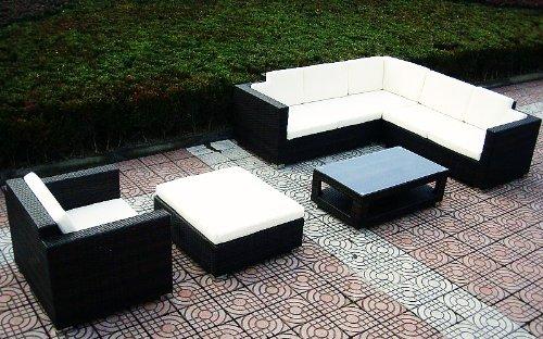Baidani Designer Lounge-Wohnlandschaft Sunset, 20-teilig