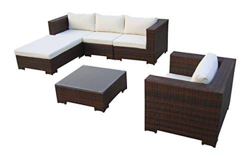 baidani rattan lounge garnitur day dreamer 15 teilig 0. Black Bedroom Furniture Sets. Home Design Ideas
