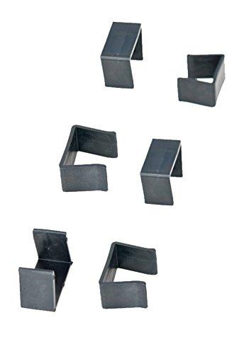 clp poly rattan gartenm bel verbinder set klammern f r. Black Bedroom Furniture Sets. Home Design Ideas