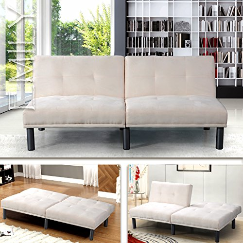 """EMILY"" SCHLAFSOFA WEISS BETTSOFA SCHLAFCOUCH SOFA BETTCOUCH LOUNGE COUCH"