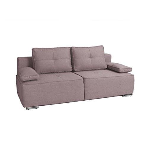 JUSTyou MALTA Einzelsofa Sofa Schlafsofa Strukturstoff (LxHxB): 205x70x93 cm große Farbauswahl